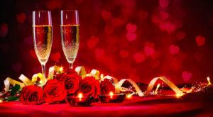 Romantica notte di San Valentino